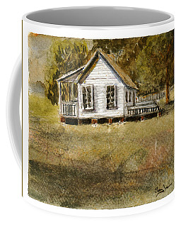 Coffee Mug featuring the painting Country Living by Barry Jones