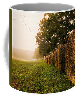 Country Morning Mist Coffee Mug