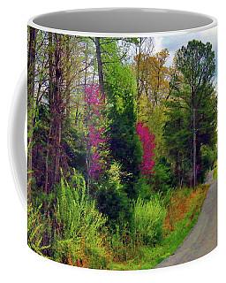 Country Road Take Me Home Coffee Mug
