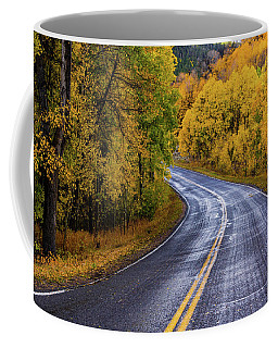 Coffee Mug featuring the photograph Country Travels by John De Bord