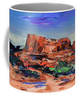 Courthouse Butte Rock - Sedona Coffee Mug