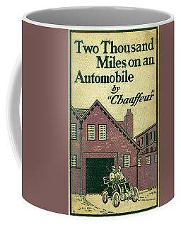 Cover Design For Two Thousand Miles On An Automobile Coffee Mug