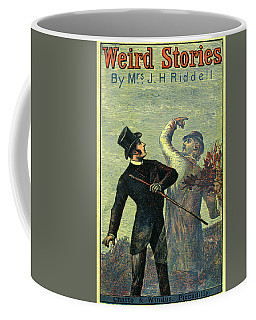 Victorian Yellowback Cover For Weird Stories Coffee Mug