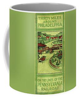 Cover Of Thirty Miles Around Philadelphia Coffee Mug