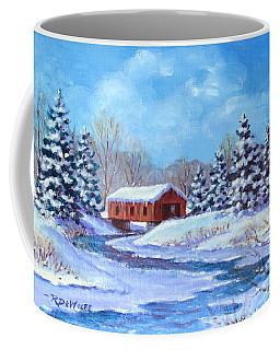 Covered Bridge Sketch Coffee Mug