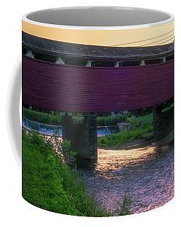 Covered Bridge Sunset Coffee Mug