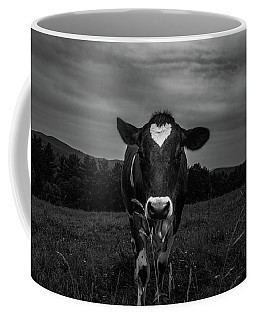 Coffee Mug featuring the photograph Cow by Bob Orsillo