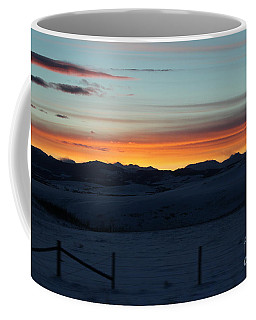 Cowboy Trail Sunset Coffee Mug
