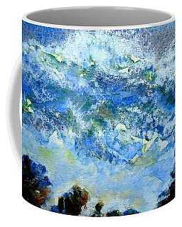 Coffee Mug featuring the painting Crashing Waves by VIVA Anderson