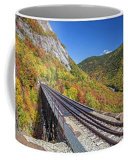 Crawford Notch Autumn Trestle Coffee Mug