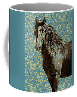 Crazy Blue Coffee Mug