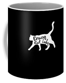 Coffee Mug featuring the digital art Crazy Cat Lady by Flippin Sweet Gear
