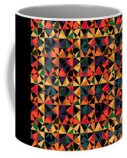 Crazy Psychedelic Art In Chaotic Visual Shapes - Efg214 Coffee Mug