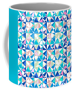 Crazy Psychedelic Art In Chaotic Visual Shapes - Efg216 Coffee Mug