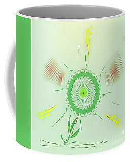 Crazy Spinning Flower Coffee Mug