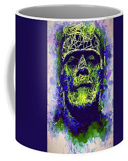 Frankenstein Watercolor Coffee Mug