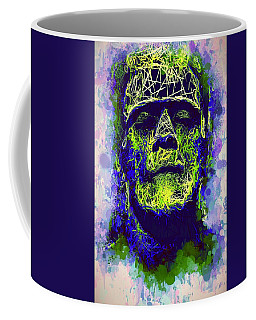 Frankenstein Watercolor Coffee Mug