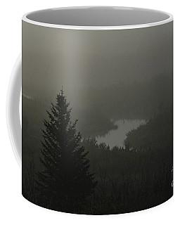 Coffee Mug featuring the photograph Creek Unveiled by Ann E Robson