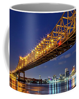 The Crescent City Bridge, New Orleans  Coffee Mug