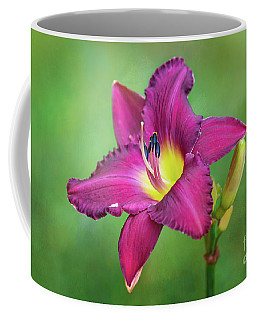 Glorious Crimson Daylily Coffee Mug