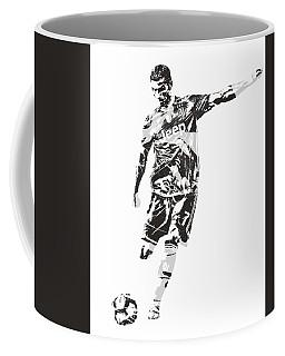 Cristiano Ronaldo Juventus Pixel Art 2 Coffee Mug