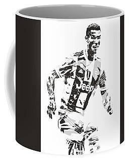 Cristiano Ronaldo Juventus Pixel Art 3 Coffee Mug