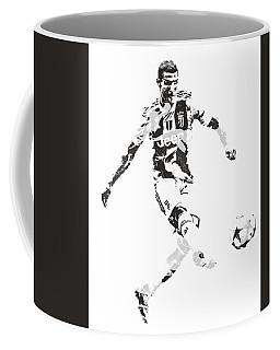 Cristiano Ronaldo Juventus Pixel Art 4 Coffee Mug