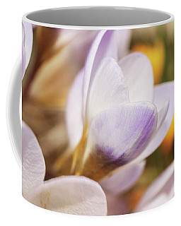 Coffee Mug featuring the photograph Crocus by Whitney Goodey