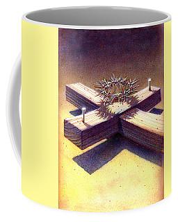 Cross And Thorns Coffee Mug