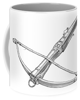 Crossbow Weapon Coffee Mug
