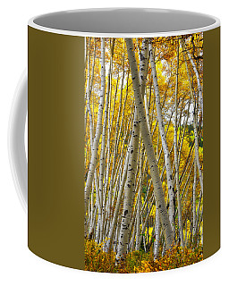 Crossed Aspens Coffee Mug