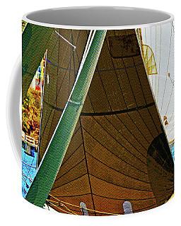 Crossing Sails Coffee Mug