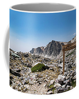 Crossroads At Medicine Bow Peak Coffee Mug