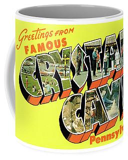 Crystal Cave Greetings Coffee Mug