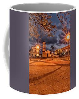Coffee Mug featuring the photograph Cuban Dawn by Tom Singleton