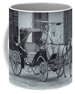 Cuban Horse Taxi Coffee Mug