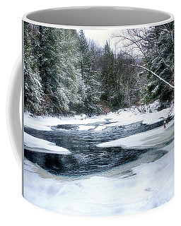 Cucumber Run In Winter Coffee Mug