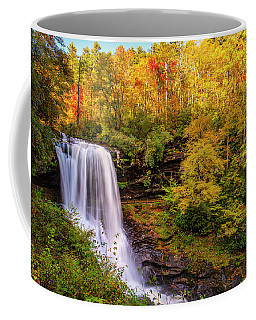 Coffee Mug featuring the photograph Cullasaja Falls In Full Bloom by Andy Crawford