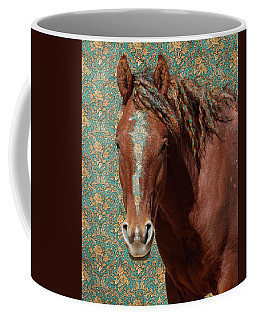 Coffee Mug featuring the photograph Curly by Mary Hone