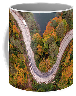 Curved Coffee Mug