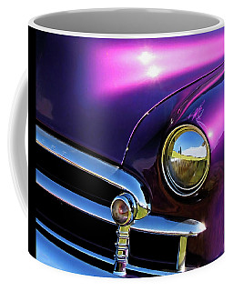 Coffee Mug featuring the photograph Custom Purple Chevy by David King