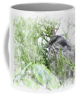Cute Little Bird On Tree Coffee Mug