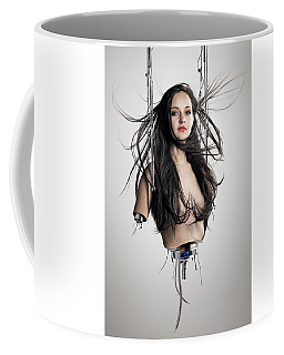 Cyborg Woman Coffee Mug