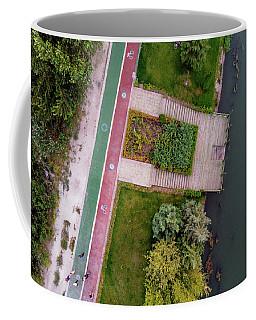 Cycling Path Coffee Mug