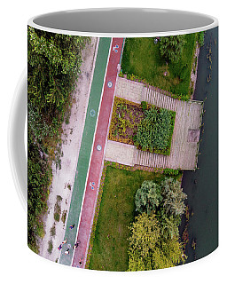Cycling Path Coffee Mug
