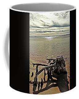 Cypress On The Beach Coffee Mug
