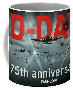 D-day 75th Poster Coffee Mug