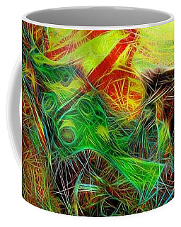 Coffee Mug featuring the painting Da1  by Arttantra