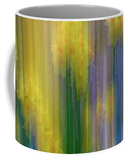 Coffee Mug featuring the photograph Daffodils by Michael Hubley