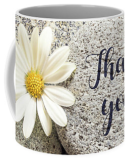 Daisy And Stone Thank You Coffee Mug